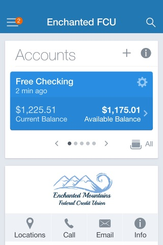 Enchanted Mountains FCU screenshot 2