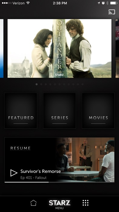 download STARZ apps 0
