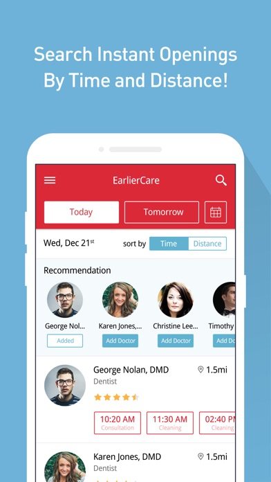 download Earlier Care: Book a Dentist appstore review