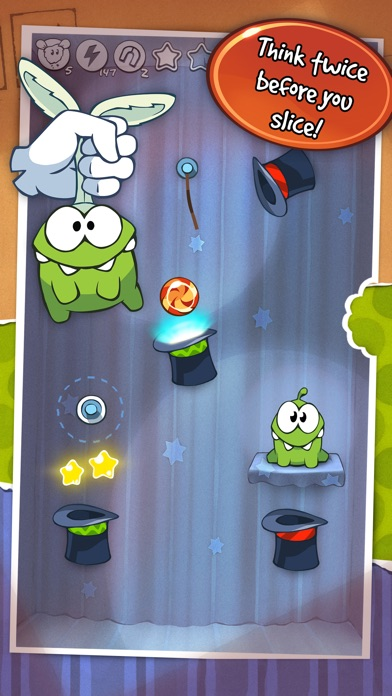 Screenshots of Cut the Rope™ for iPhone