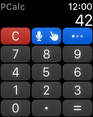 PCalc - The Best Calculator Capture d'écran