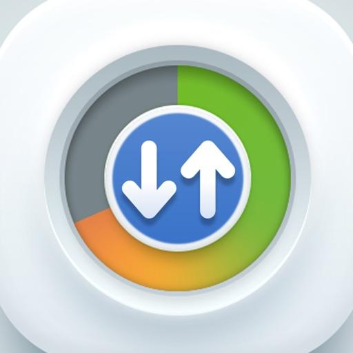 DataMeter - Track Data Widget iOS App