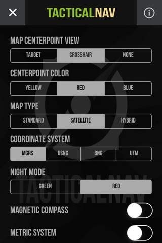 Tactical NAV screenshot 3