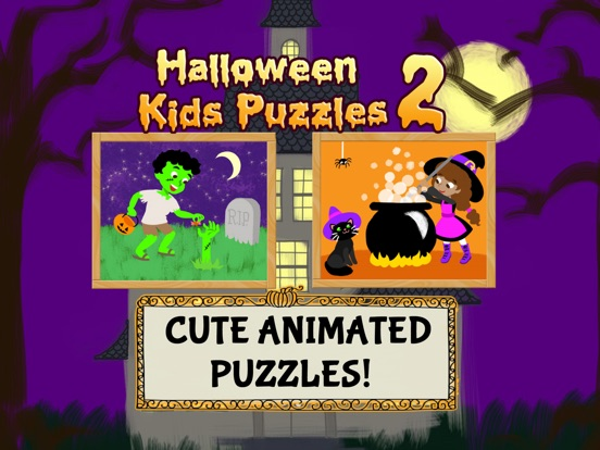 Halloween Kids Puzzles 2: Gold Screenshots