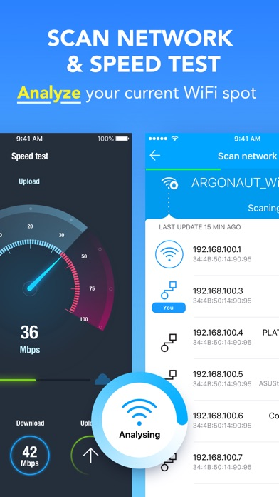 WiFi Map Pro - Scan & Get Passwords for free Wi-Fi Screenshots