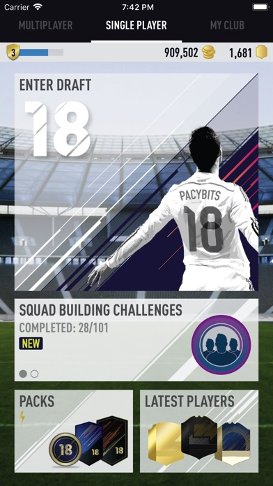 download FUT 18 DRAFT by PacyBits apps 1