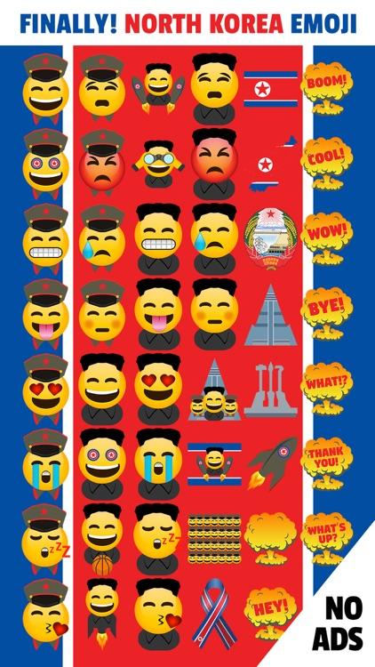 North Korea Emoji App by Yes Man Enterprises, Inc