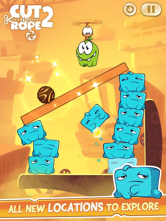 Cut the Rope 2: Om Nom's Quest Screenshots