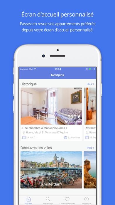 Nestpick »Appartements à louerCapture d'écran de 1