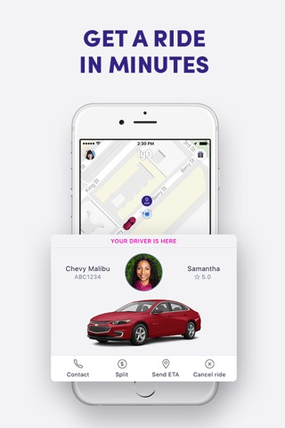 Lyft screenshot 3