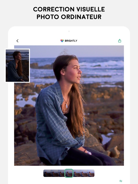 Screenshot #4 pour Brightly - Corriger les photos