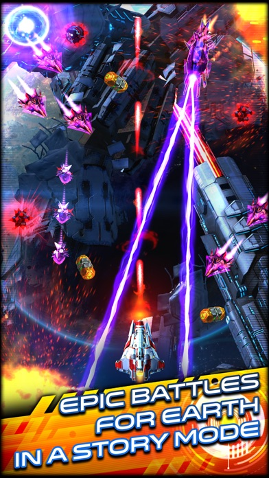 Space Warrior: The Story iOS Screenshots