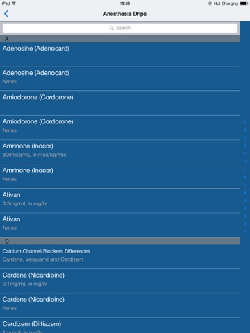 Vargo Anesthesia Mega App screenshot 3