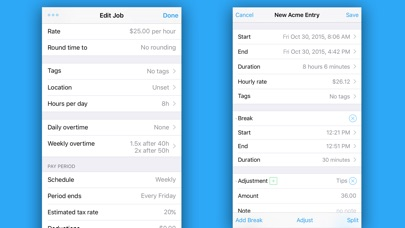 download HoursTracker: Hours and Pay appstore review