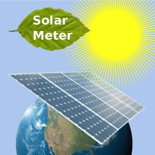 SolarMeter solar panel photovoltaic energy planner iOS App