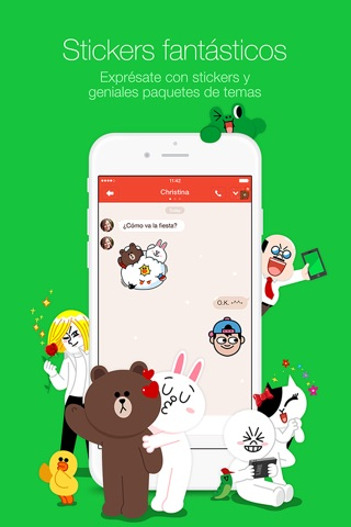 LINE screenshot 2