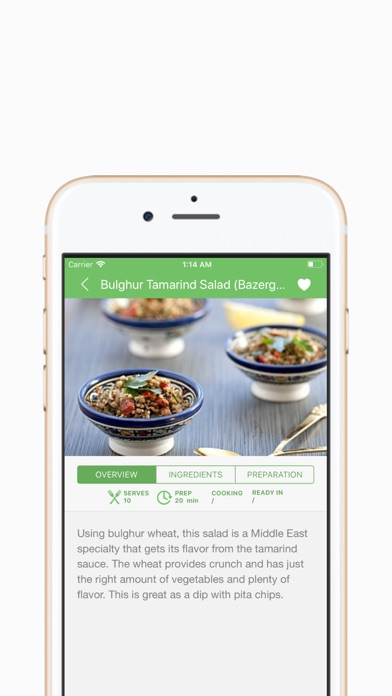 Screenshot for Sarina's Sephardic Cuisine in France App Store