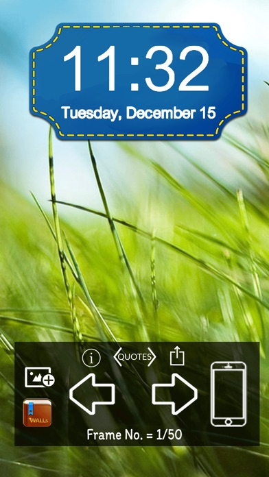 Sunny & Sunset Lock Screen Pro screenshot 1
