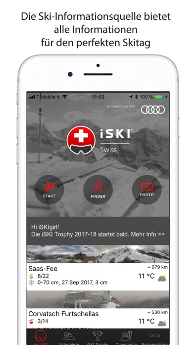 iSKI Swiss - Ski & Schnee Скриншоты3