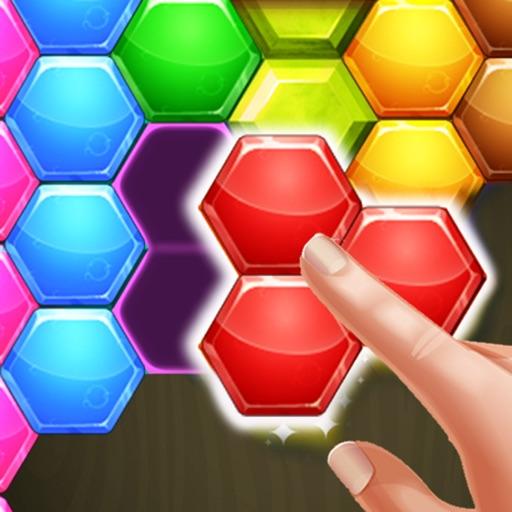 Hexagon Blocks Puzzle