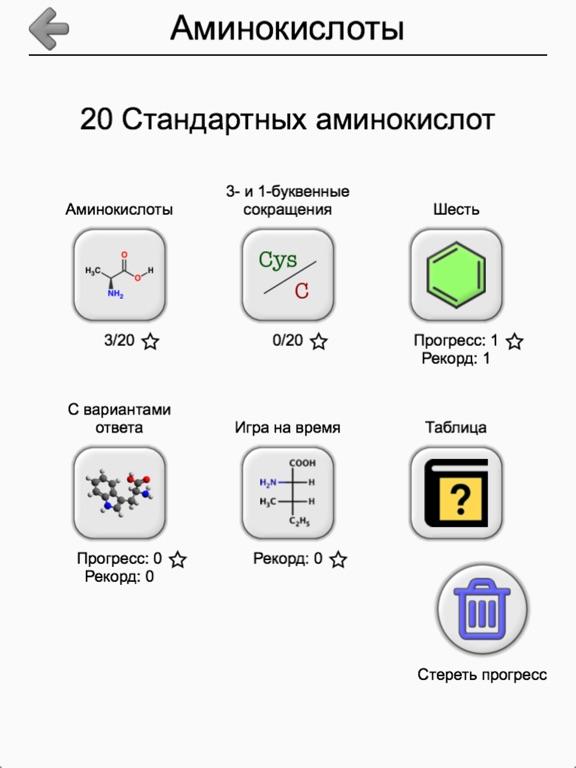 Скачать Аминокислоты: структуры и коды