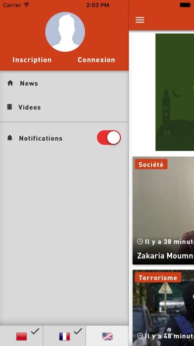 Yabiladi NewsCapture d'écran de 5