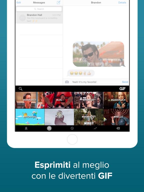 Fleksy - The Fast GIF Keyboard Screenshot