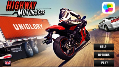 Screenshot of Highway Bike Racer : 3D Racing1