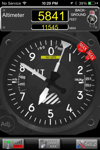 Aircraft Altimeter screenshot 1