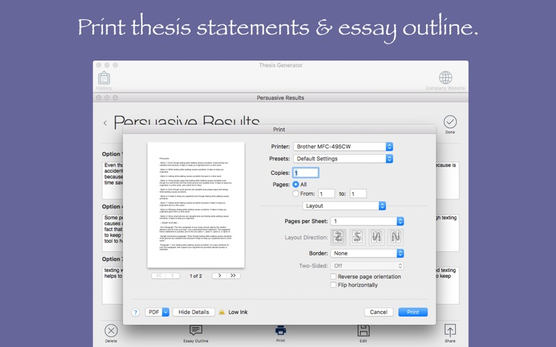 book thesis statement generator Writing a thesis statement writing a thesis statement can be an extremely difficult skill for students to learn the teaching standards this skill is introduced in the tennessee state teaching tweetemail tweetemailwriting a thesis statement writing a thesis statement can be an extremely difficult skill for students to learn.