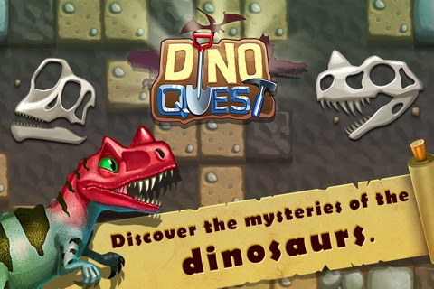 Dino Quest - Dinosaur Game screenshot 1