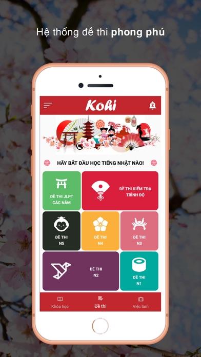Học tiếng Nhật cùng Kohi