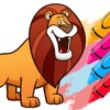 Coloring Books Animal Game game free for iPhone/iPad