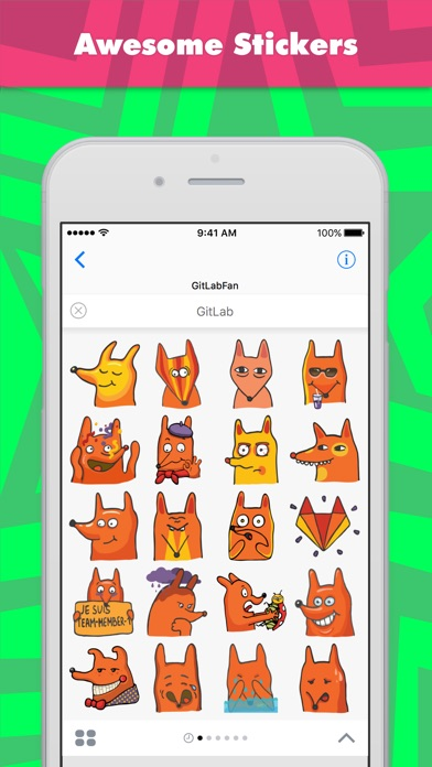 Gitlab Stickers By Gitlabfan review screenshots