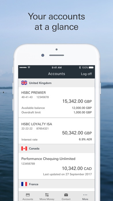 hsbc mobile banking app review