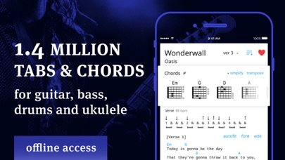 Tabs & Chords - learn and play screenshot 1