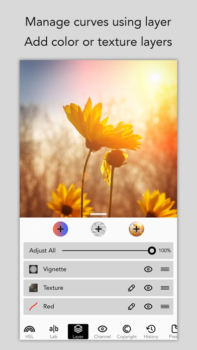 MaxCurve - Photo editor for pro photography Screenshot