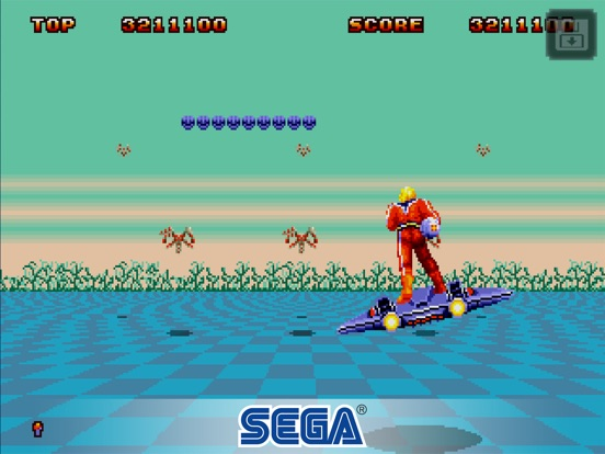 Space Harrier II ™ Classic Screenshots