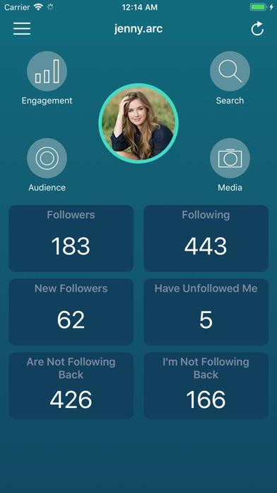 Followers Pro + for Instagram Screenshot 2