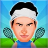 Rund Tennis - Coole 2 Spieler