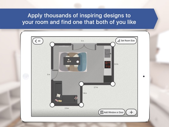 room planner 3d for ikea on the app store. Black Bedroom Furniture Sets. Home Design Ideas