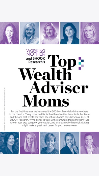 Working Mother Magazine review screenshots