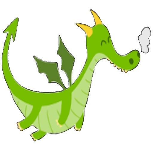 Flappy Green Dragon