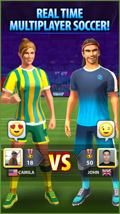 Soccer! Hero - Football Games Screenshot 1