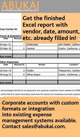 Screenshot von ABUKAI Rechnungen, Kosten4