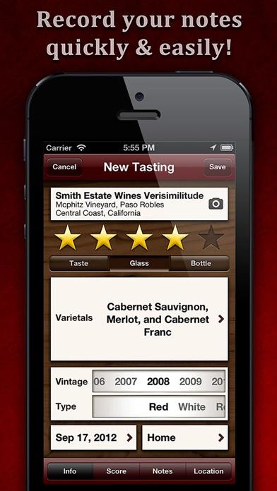 WineAlbum - Wine Tasting Notes Скриншоты3