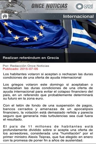 ONCE NOTICIAS screenshot 2