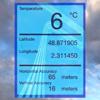 Termómetro LCD