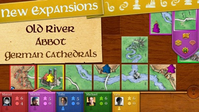 Carcassonne screenshot 1
