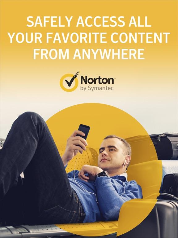 Norton WiFi Privacy VPN iPad